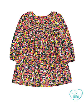 little bird floral smock frill dress