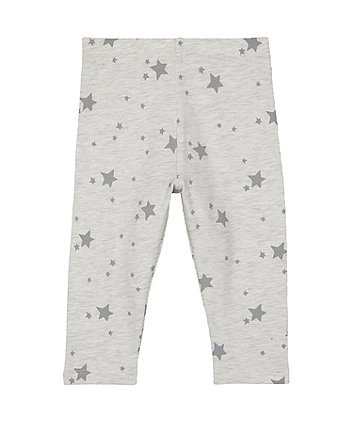 grey star leggings
