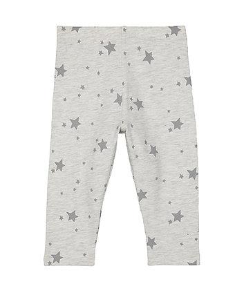 grey star leggings