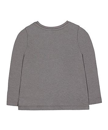 grey floral dream t-shirt