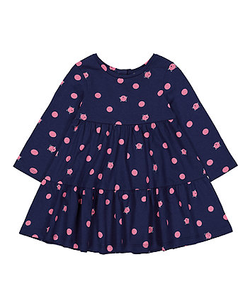 navy cat dress