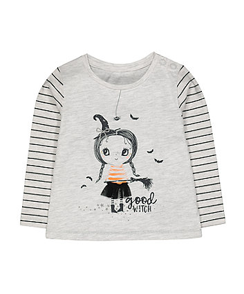 grey halloween good witch t-shirt