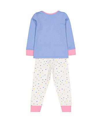 blue dinosaur pyjamas