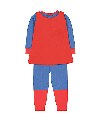 DC Comics superman dress-up pyjamas