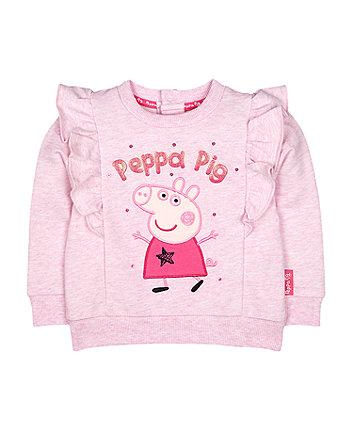 peppa pig frill jumper