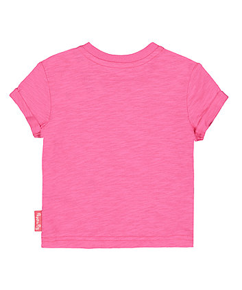 peppa pig pink applique t-shirt