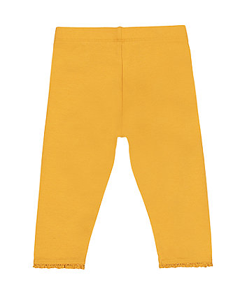 mustard yellow leggings