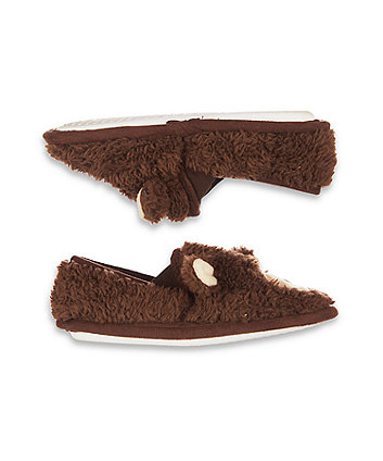 brown bear slippers