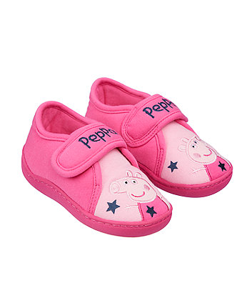 peppa pig cupsole slippers