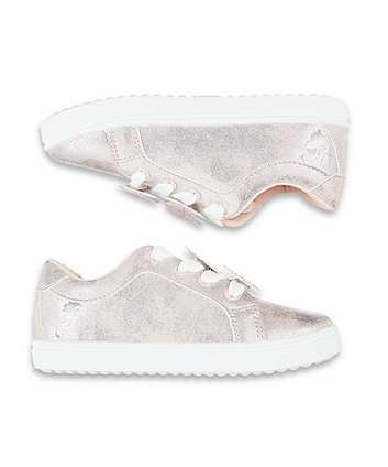 pink butterfly trainers