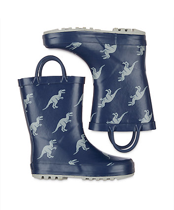 back to nursery dino wellies