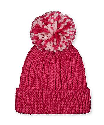 raspberry beanie hat