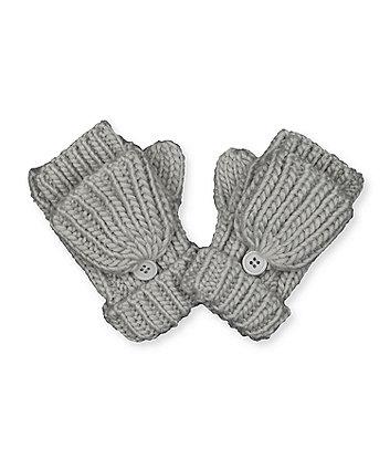 grey converter mitts