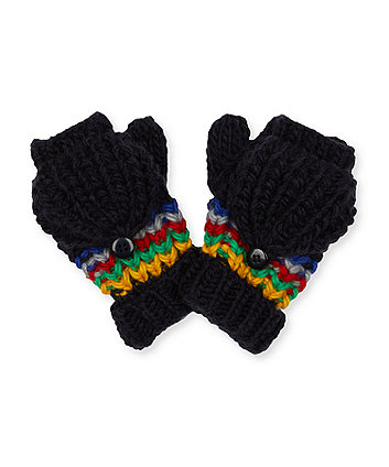 multi-stripe converter mitts