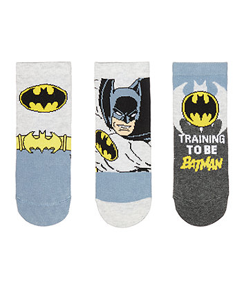batman socks - 3 pack