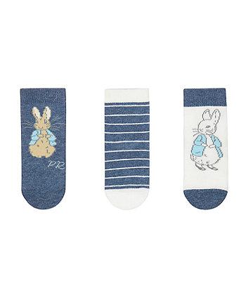 peter rabbit socks - 3 pack