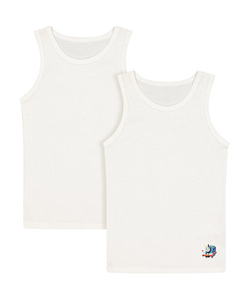 thomas the tank engine vests - 2 pack