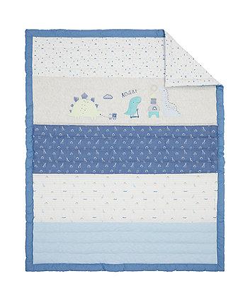 sleepysaurus quilt