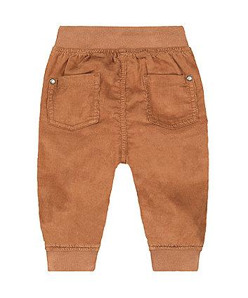 tan cord trousers