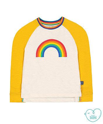 little bird raglan rainbow t-shirt