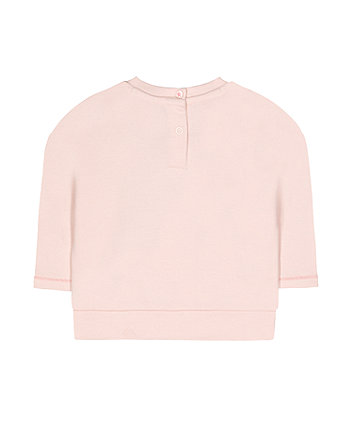 pink unicorn sweat top