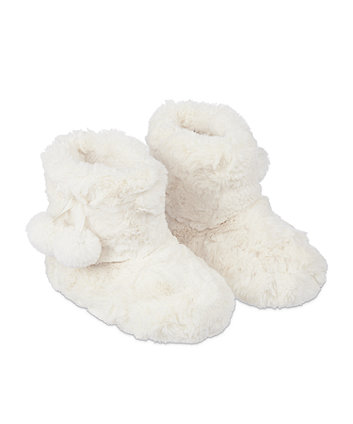 fur boot slippers