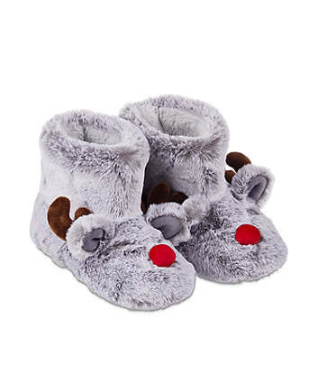 reindeer boot slippers