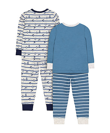 penguin pyjamas - 2 pack