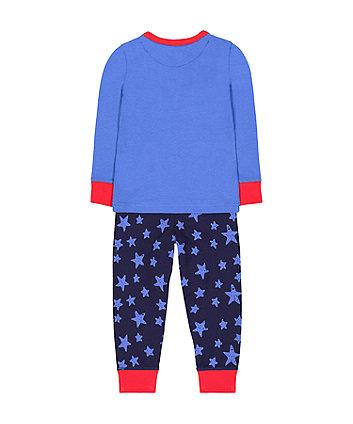 festive rudolph reindeer pyjamas