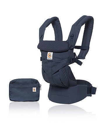 Ergobaby omni 360 carrier - navy mini dots