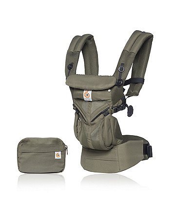 Ergobaby omni 360 cool air mesh carrier - khaki green