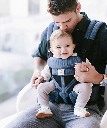 Ergobaby omni 360 cool air mesh carrier - indigo weave