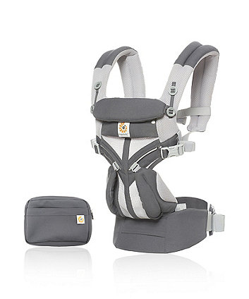 Ergobaby omni 360 cool air mesh carrier - carbon grey