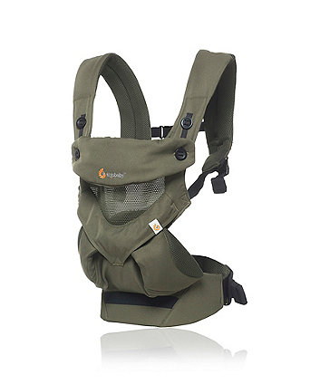 Ergobbay 360 cool air mesh carrier - khaki green