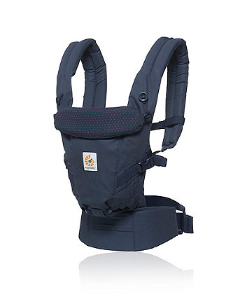 Ergobaby adapt carrier - navy mini dots