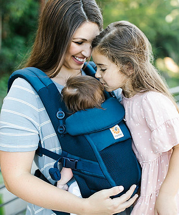 Ergobaby adapt cool air mesh carrier - deep blue