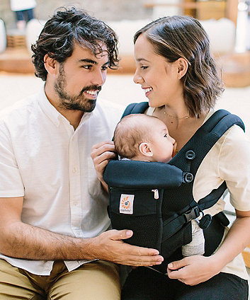 Ergobaby adapt cool air mesh carrier - onyx black