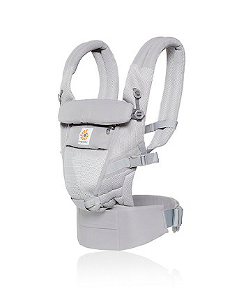 Ergobaby adapt cool air mesh carrier - pearl grey