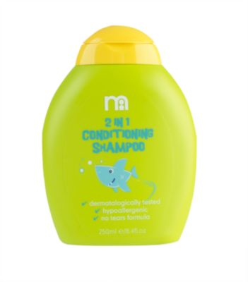 mothercare 2-in-1 conditioning shampoo 250ml