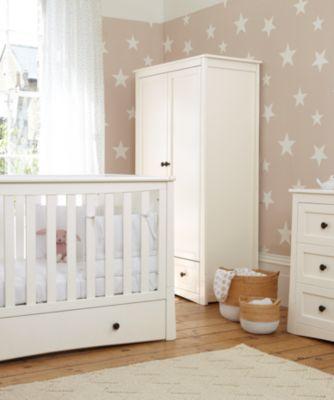 mothercare harrogate wardrobe - almond