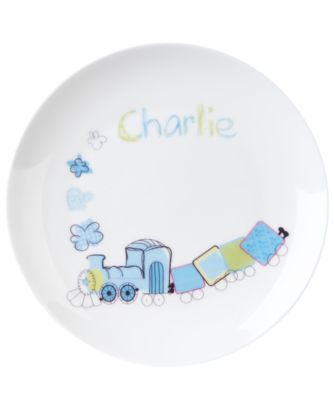 Mothercare Personalised Train Breakfast Set - 15 Characters