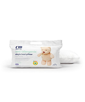 mothercare by Fogarty anti-allergy single bed pillow