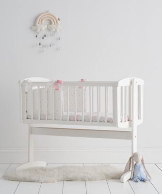 mothercare swinging crib - white  sc 1 st  Mothercare & Moses Baskets u0026 Baby Cribs | Mothercare