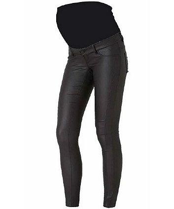 Mamalicious ram coated slim maternity jeans