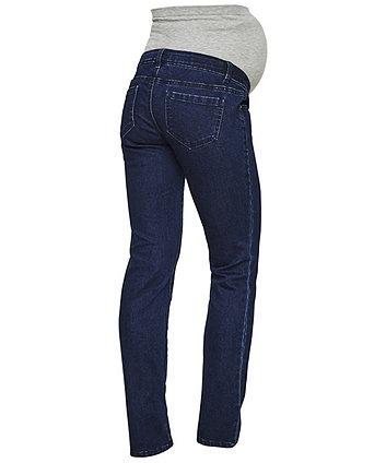 Mamalicious lola straight blue maternity jeans