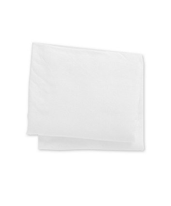 white jersey cotton fitted cot sheets - 2 pack
