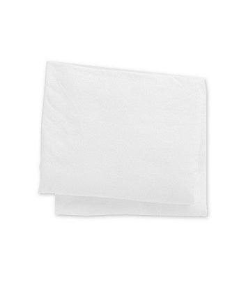 white jersey cotton fitted cotbed sheets - 2 pack