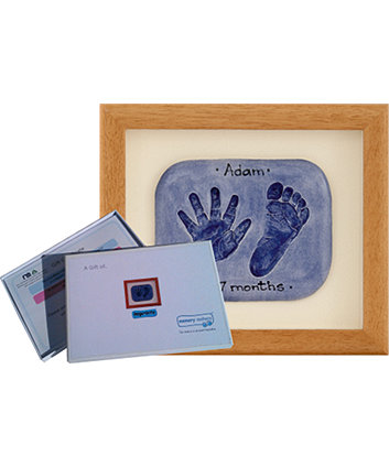 Memory Makers double imprint in a wood frame - gift voucher