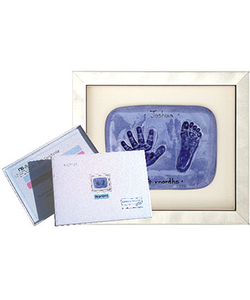 Memory Makers double imprint in a silver frame - gift voucher