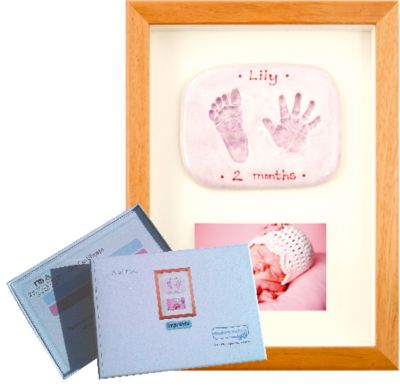 Memory Makers double imprint with photo in a wood frame - gift voucher